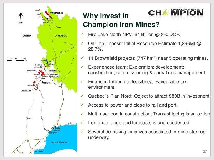 Champion Iron Limited Ordinary Shares - The Stock Market ...