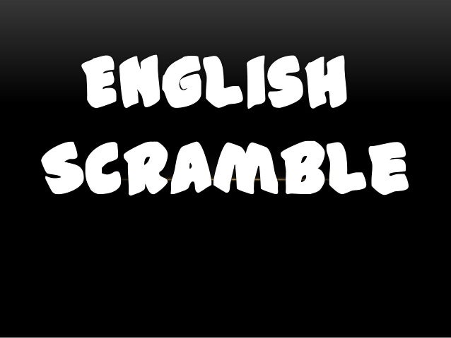 INSTRUCTIONS Unscramble the following words. This game is an application for your lesson in Phonics: Blend, Digraphs, Homo...