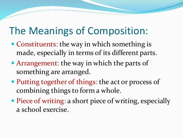english composition i Eng 121 english composition i: co1 3 credit hours • 45 contact hours (lecture) prerequisite: accuplacer 95 (ss), act 18 or ccr 092 (grade of c or higher) emphasizes the planning, writing, and revising of compositions, including the development of critical and logical thinking skills.