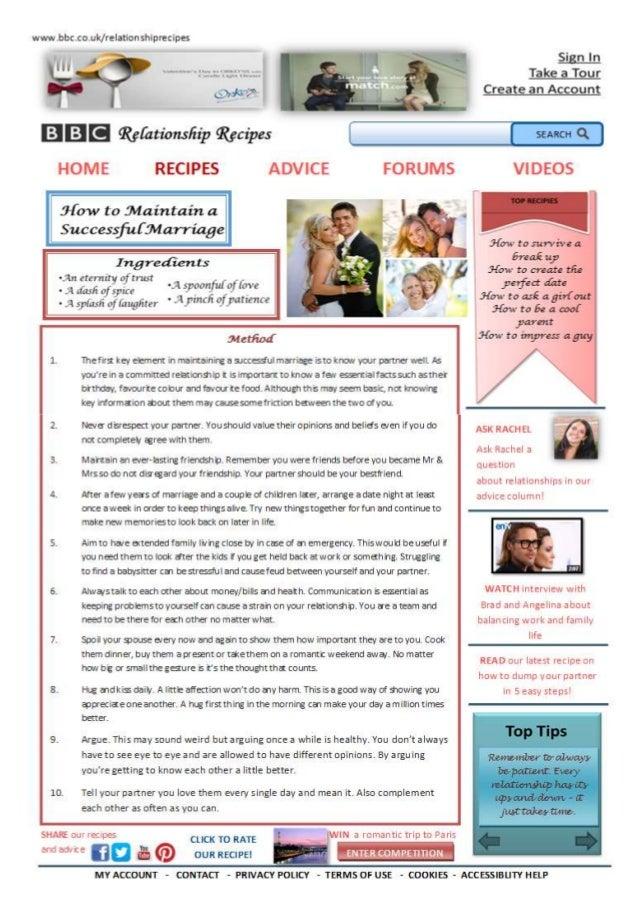 English coursework   webpage