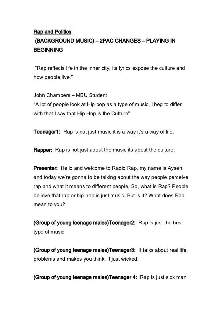 English coursework radio final draft new