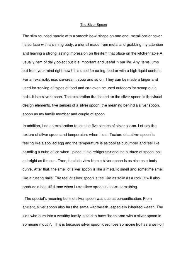 five senses essay