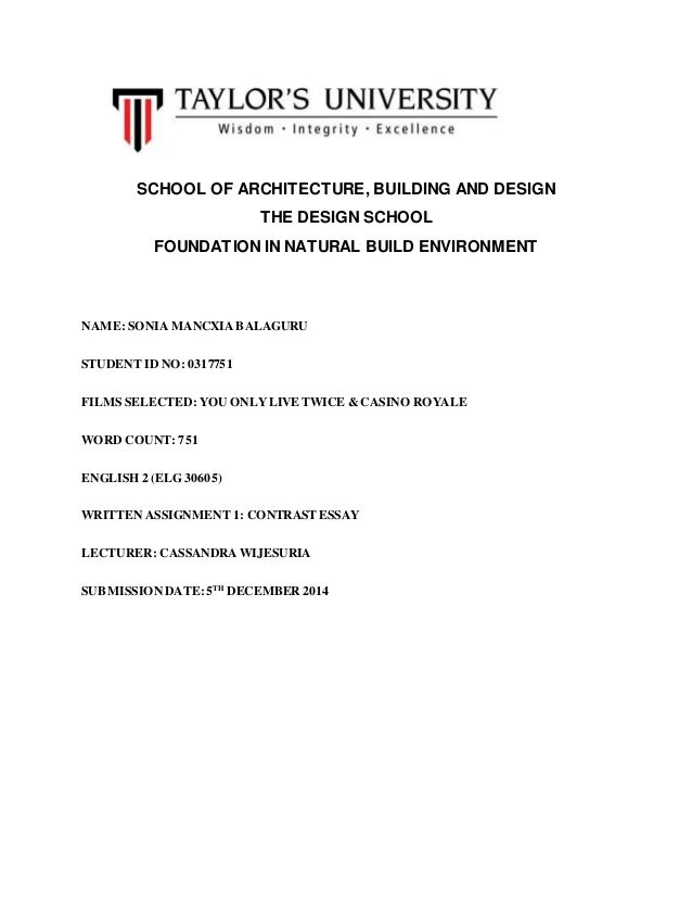 Assignment Format Sample