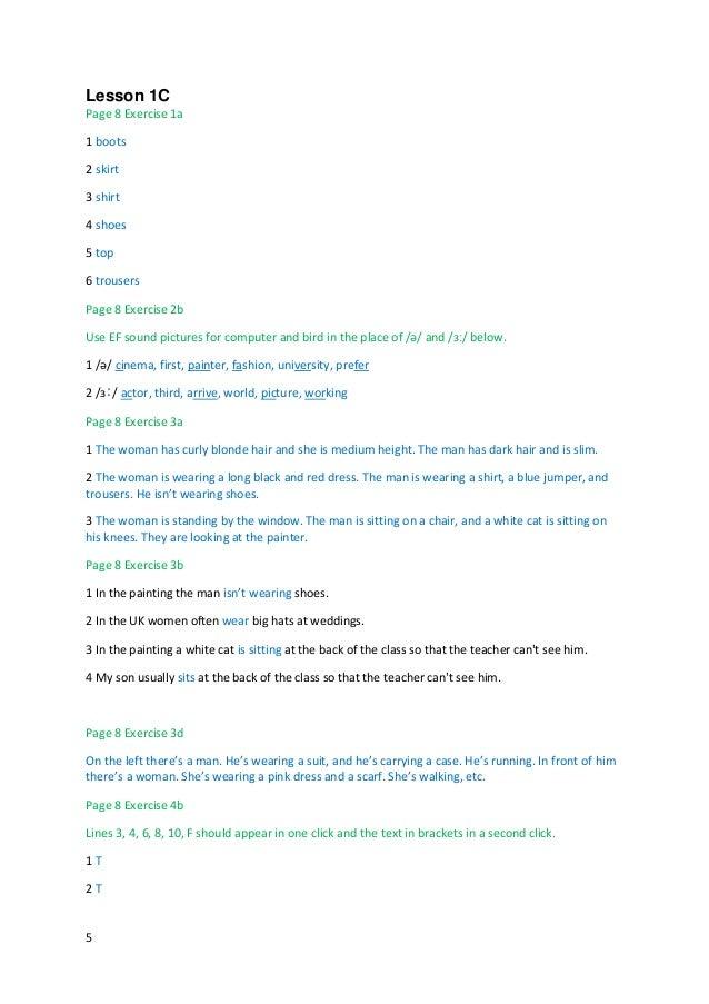 English File 3e Pre Int Sb Answer Key