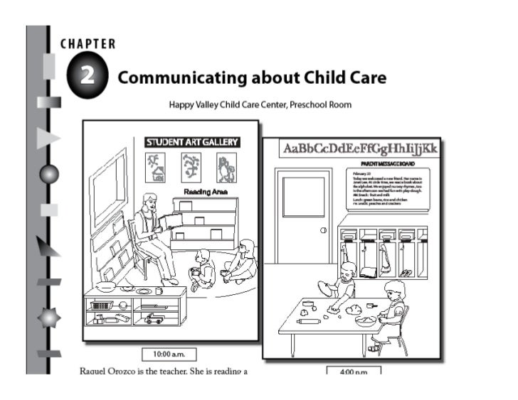 English for Child Care: Language Skills for Parents and