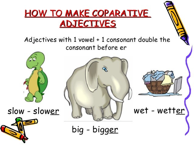 English for kids comparisons