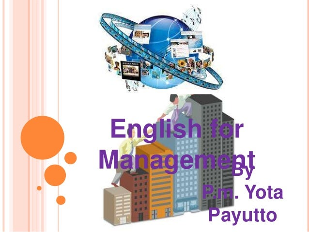 ByP.m. YotaPayuttoEnglish forManagement