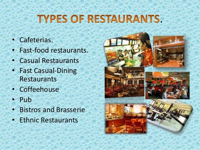 justification of the business concept for fast food An effective restaurant menu balances good descriptions and layouts with correct food  the balance small business  menu should reflect the concept of the.