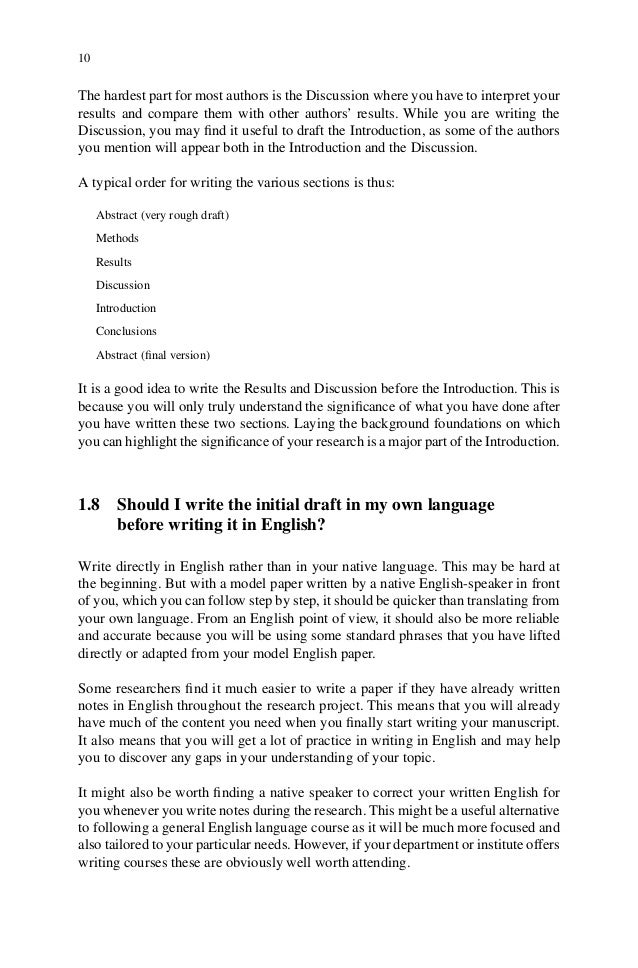 adrian wallwork english for writing research papers Similar items english for writing research papers / by: wallwork, adrian published: (2011) english for research : usage.