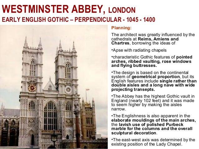 13 WESTMINSTER ABBEY LONDON EARLY ENGLISH GOTHIC