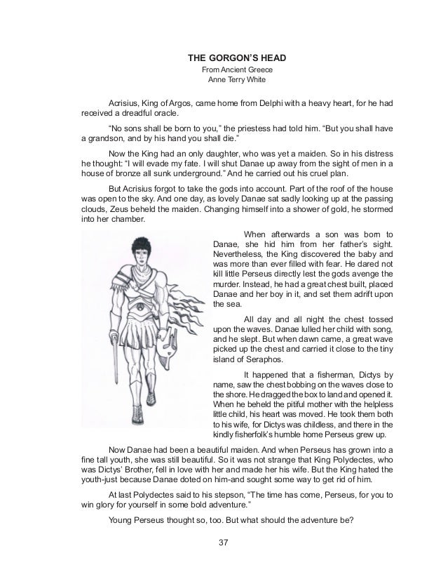Gorgon s head essay outline