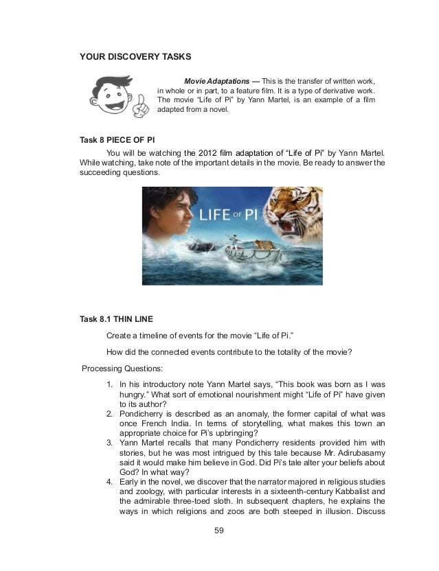 life of pi essay yahoo How does the physical geography of a place affect human life written by scott auerbach   making it difficult to sustain vegetation and prevent massive loss of life.