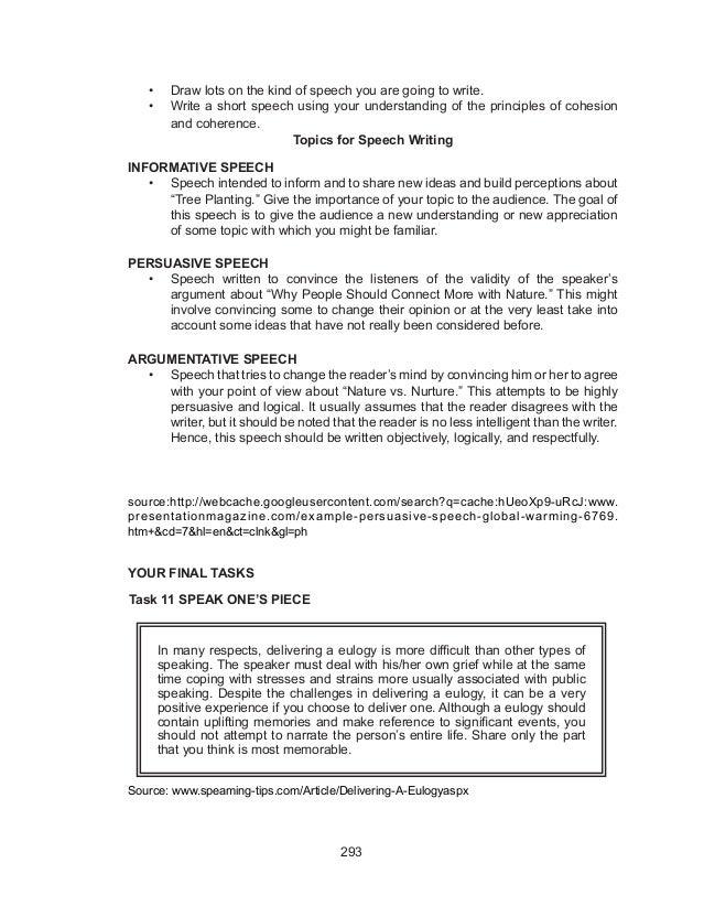 Grade 10 Level 5 Writing Sample