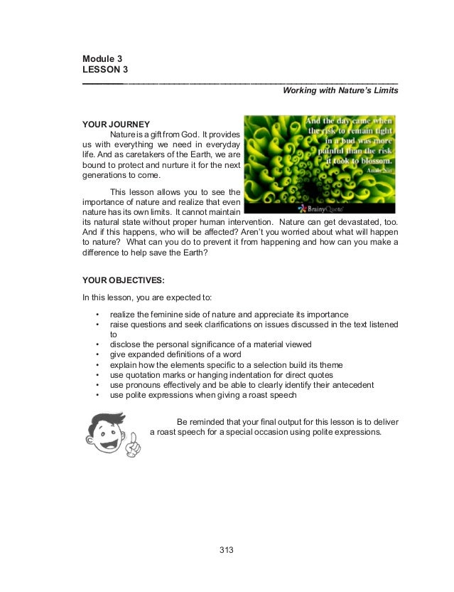 Essay on Nature for Students and Children