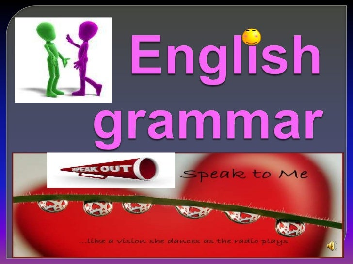 English grammar<br />