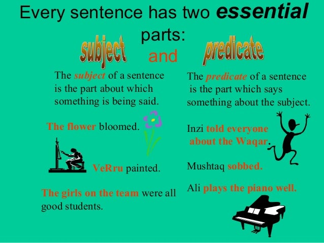 subject in english grammar pdf