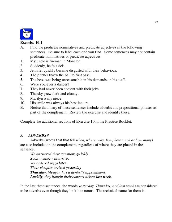 predicate nominative worksheet Termolak – Predicate Nominative Worksheet