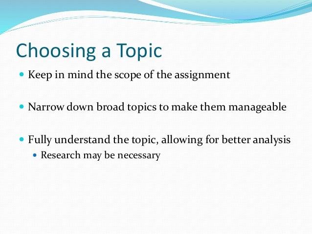 causal analysis topics