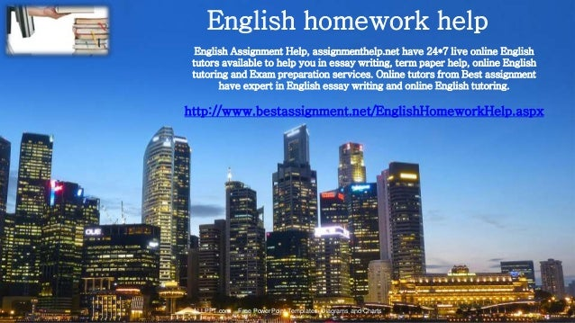 english paper help online