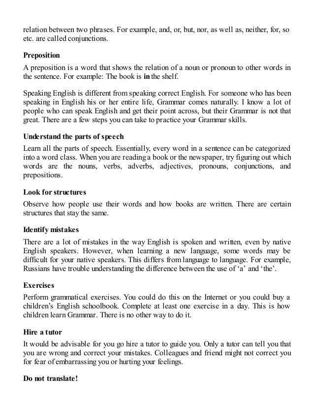 How to speak good and correct english language — photo 2