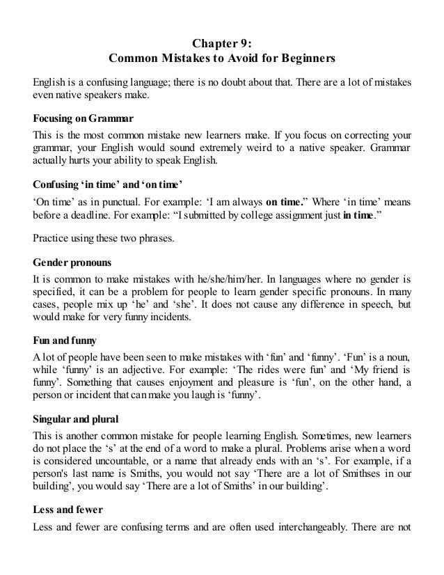 english how to speak english fluently in 1 week pdf