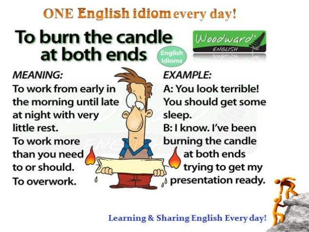 Some Extremely Interesting English Idioms For You