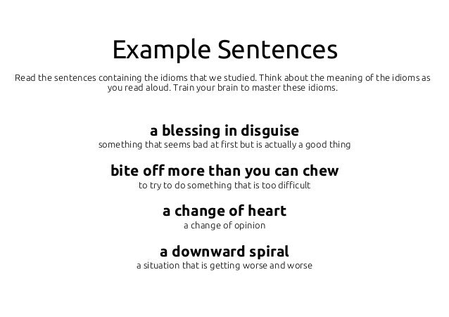 a blessing in disguise example sentence