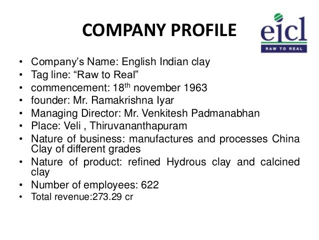 english indian clays limited