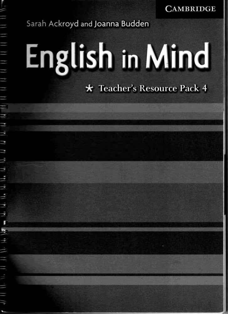 in book resource mind teachers english 3 level