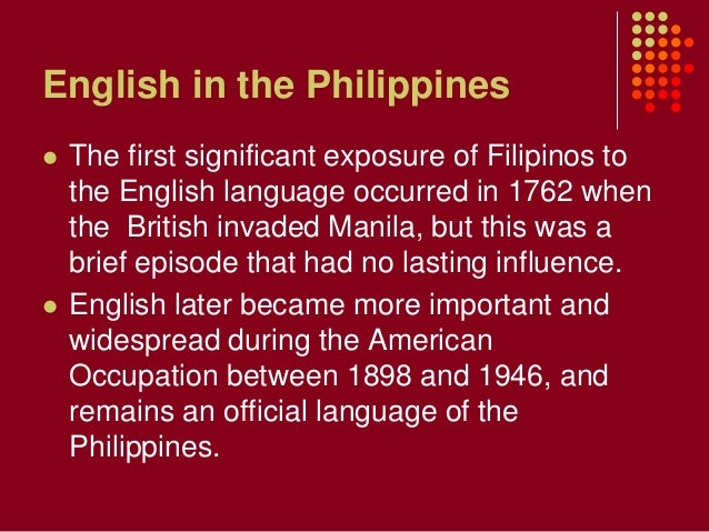 Philippine English