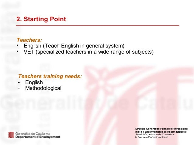 English In Italian: Presentation Of English In Vocational Education And
