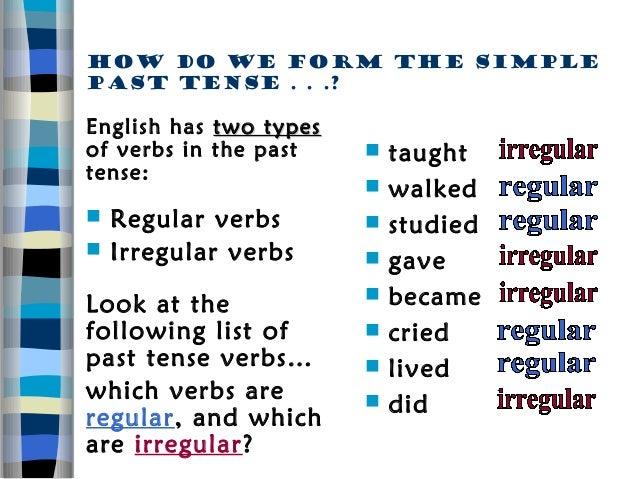 English klass 8 past tense (1)