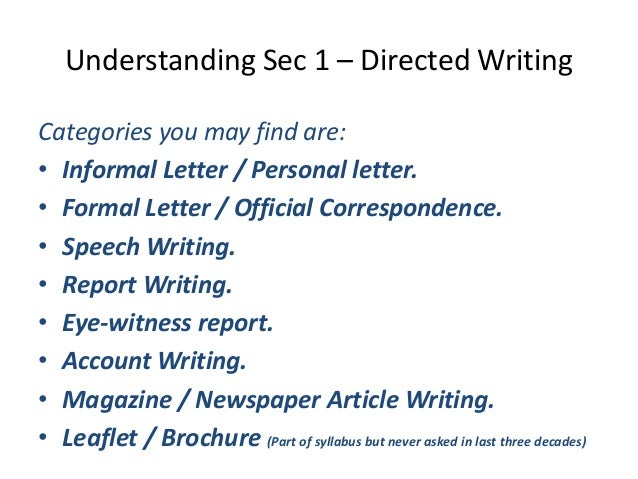 essentials for report writing in english