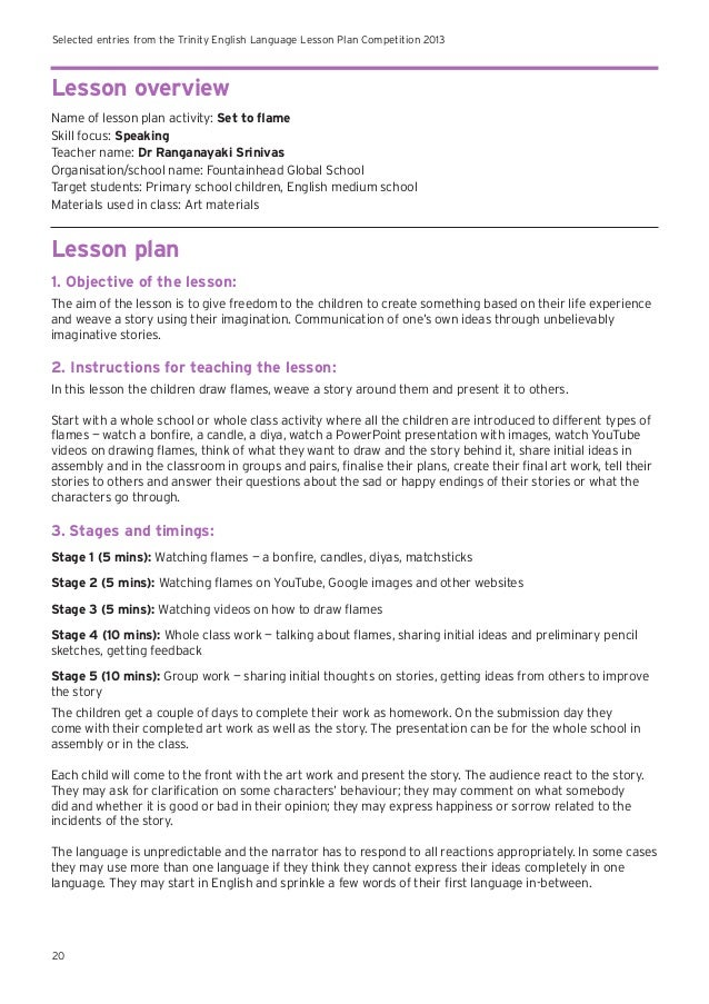 english language example lesson plans india English lesson plans for kids are designed to make sure children enjoy learning the language a fun english class typically includes fun activities and games that children can engage in as part of the lessons.