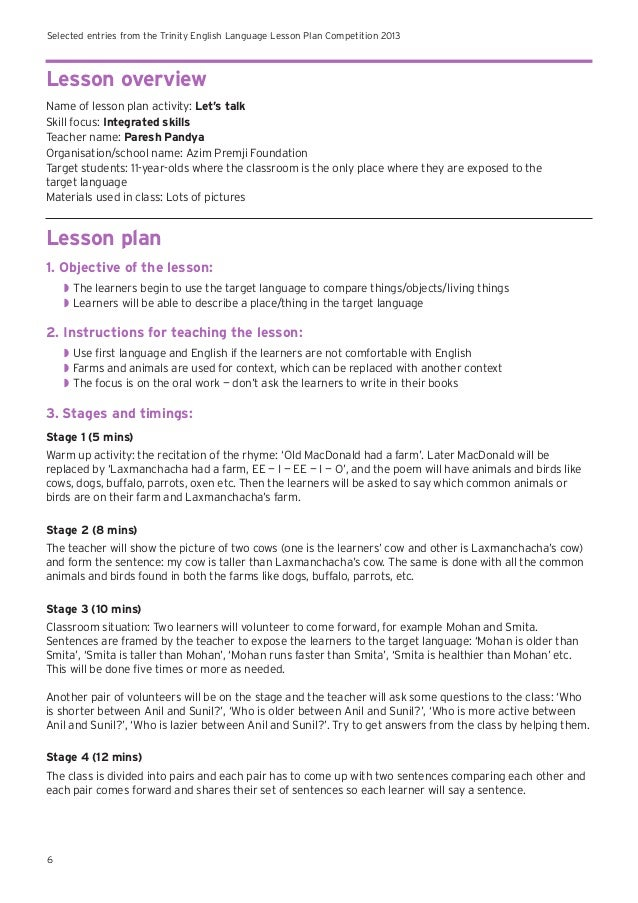 lesson plan in english writing Use the navigation above to browse our english lesson plans academic writing- cultural differences added on 5th april 2018 lesson plans & worksheets can be used by teachers without any fee in the classroom however.