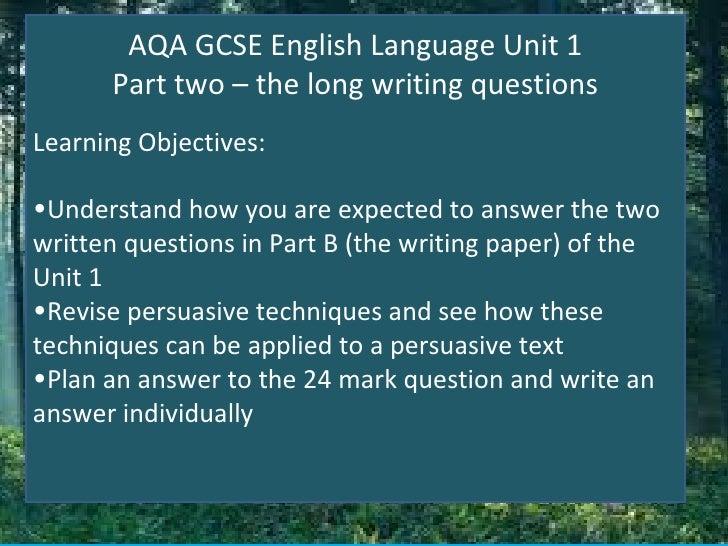 About english language essay
