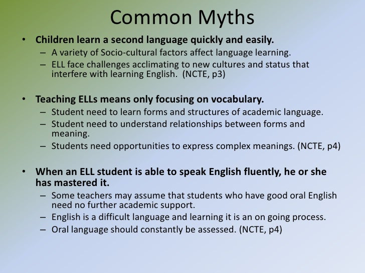 relationship between the ell esl specialist and classroom teacher
