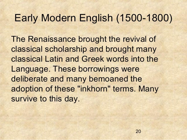 what the renaissance period entailed and the many changes that came with it What ended the renaissance- inquiry project no description by nadiya farrington on 30 january 2013 tweet if the renaissance period didn't happen.