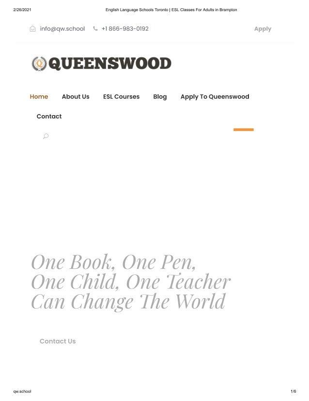 Most Famous English Language Schools in Toronto