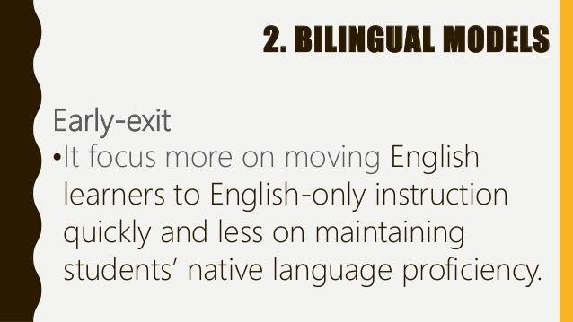 Transitional bilingual education