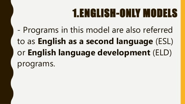 english language teaching models