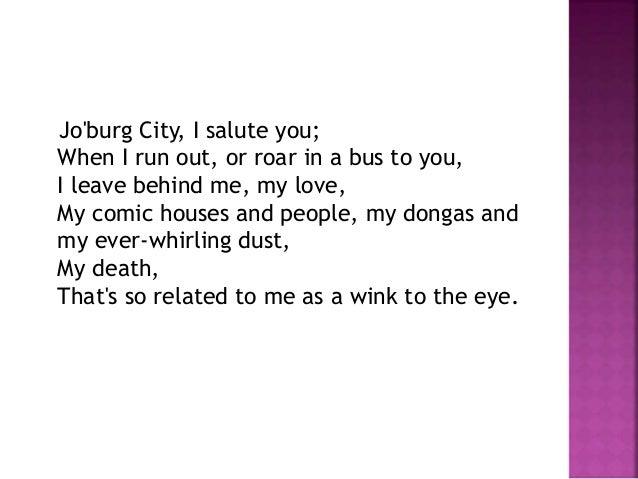 city johannesburg by mongane wally serote