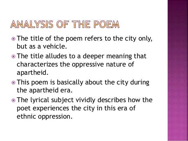 africa my africa poem analysis essays
