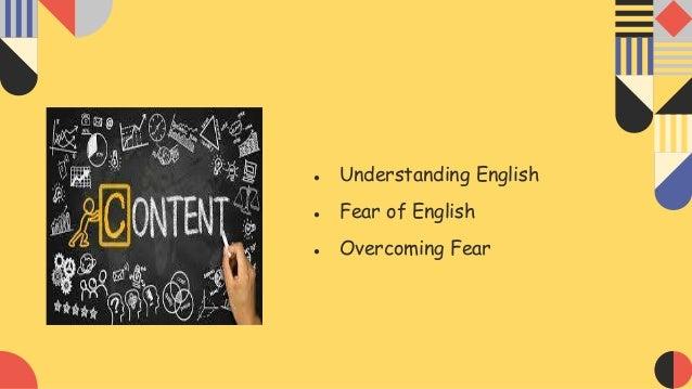 Learning English Slide 2
