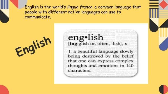 Learning English Slide 3