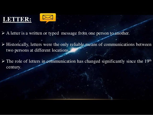 What Is Letter Writing And Its Types from image.slidesharecdn.com