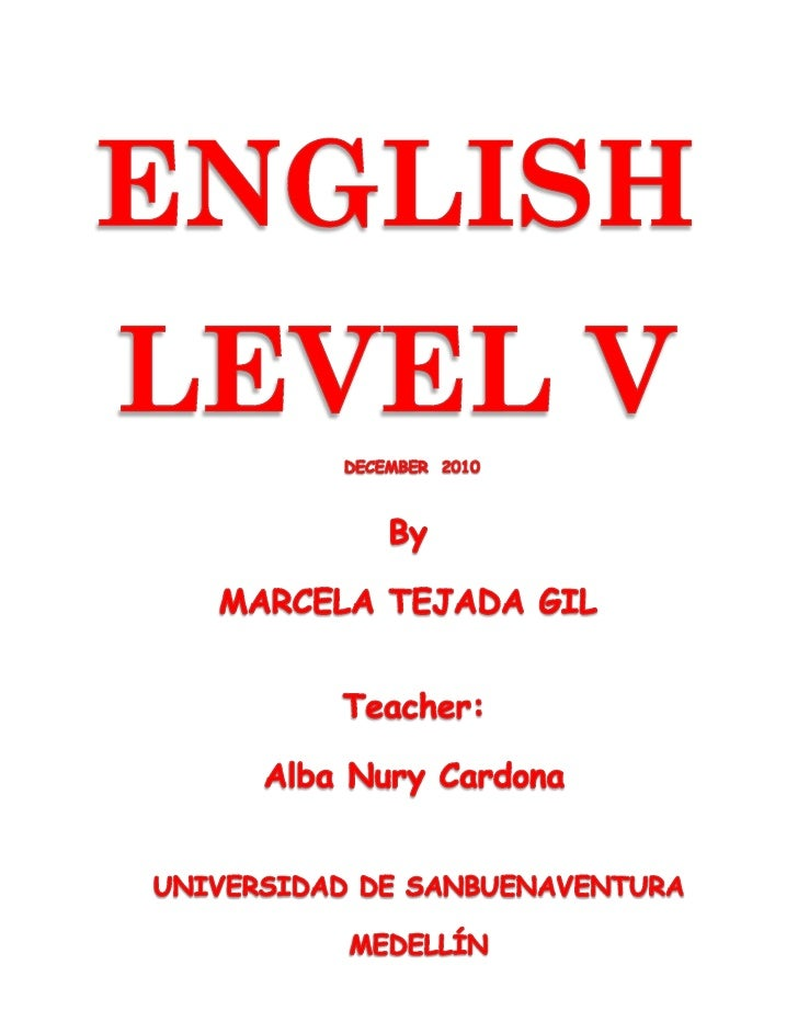 My Portfolio of English Level V   UNIT 1          A TIME TO             I can introduce someone and answer.               ...