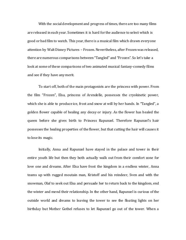 english movies essay