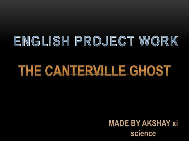 Canterville Ghost Cbse Book