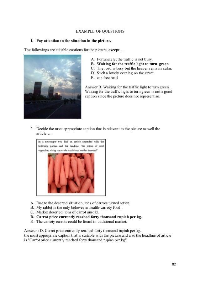 Materi Bahasa Inggris Caption 1